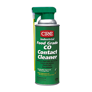 CRC Food Grade CO Contact Cleaner