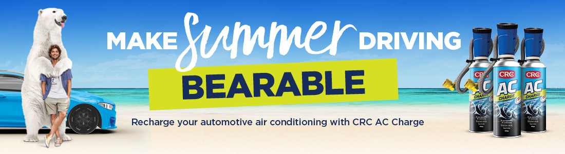 Recharge your cars air conditioning with CRC AC Charge