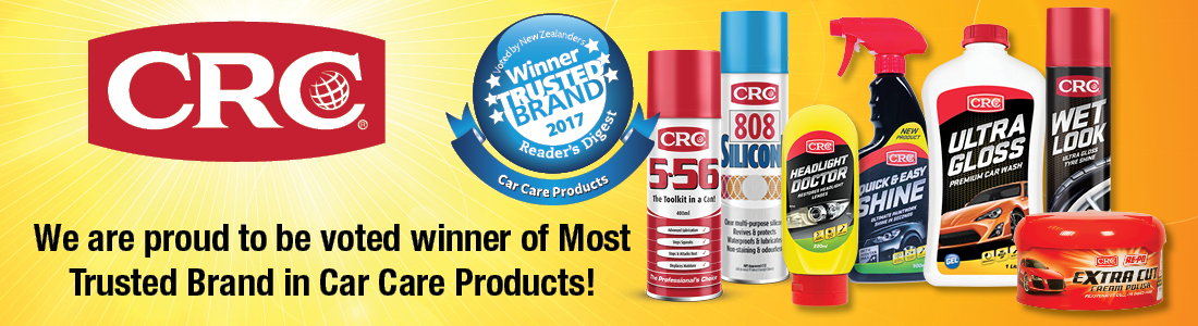 CRC Winner of Readers Digest Trusted Brand 2017