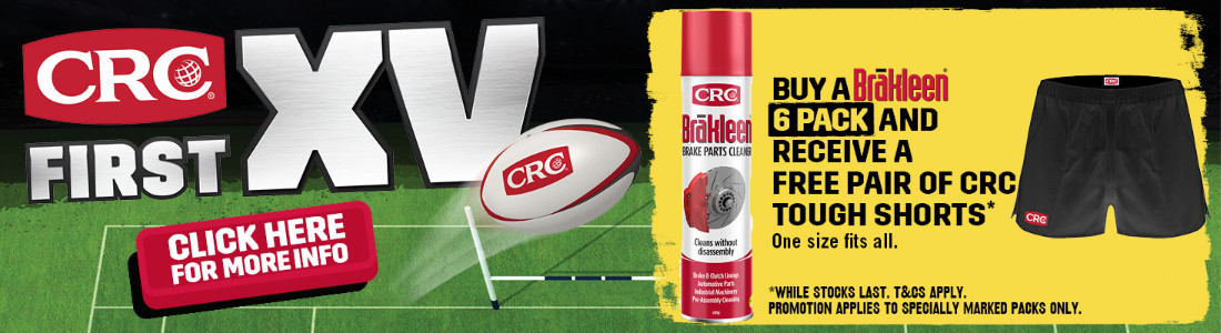 CRC First XV Brakleen Pack