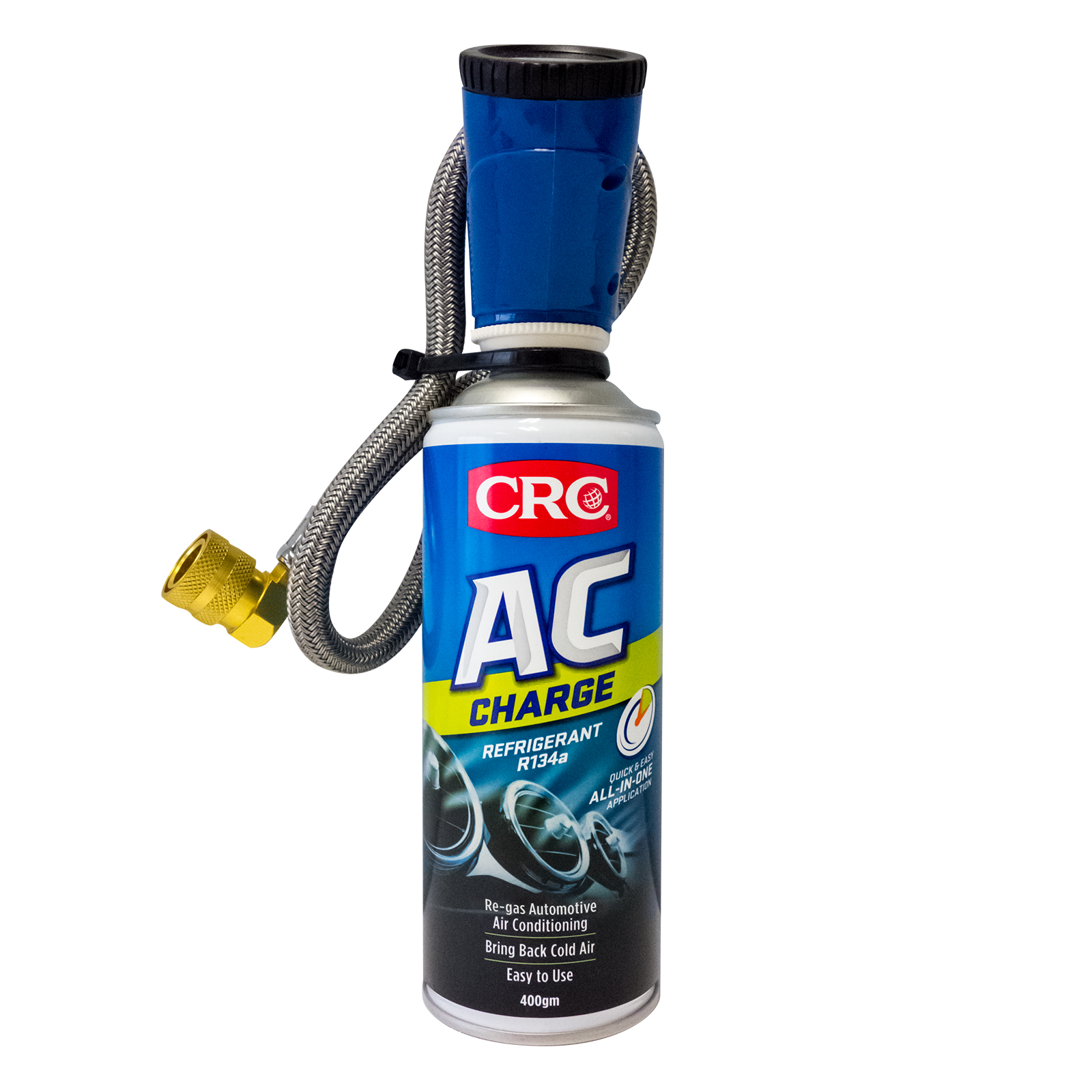 Inexpensive, quick way to refill your air-conditioning with refrigerant