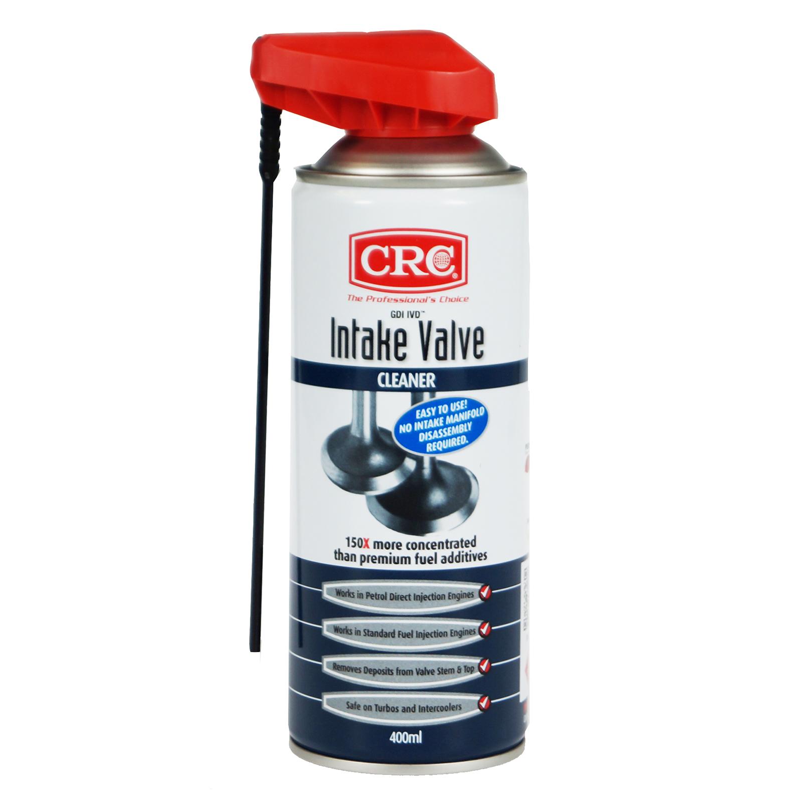 Car Dry Fuel System Cleaner Crc Gdi Intake Valve Cleaner