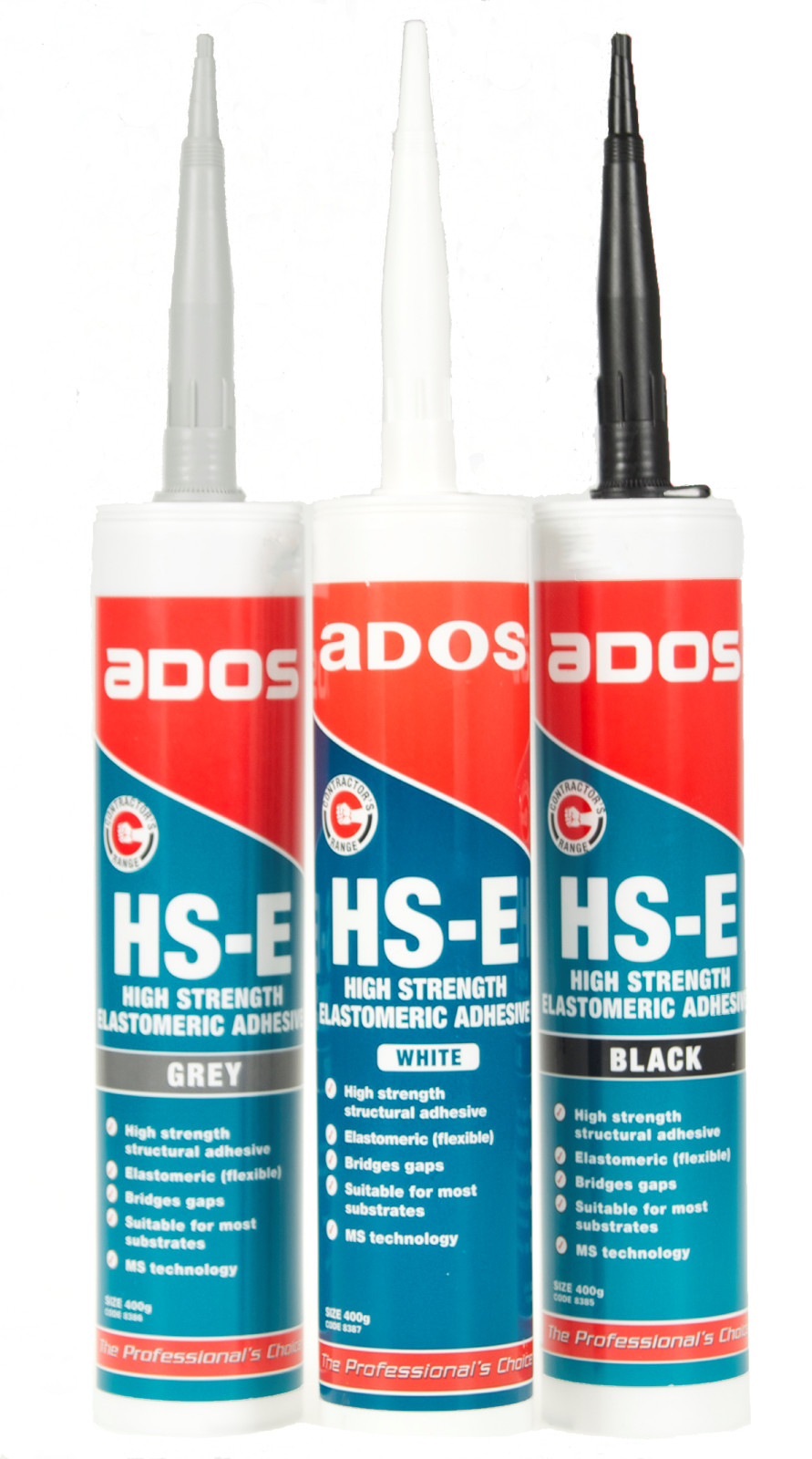 High Strength Elastomeric Flexible Adhesive Sealant | ADOS HS-E