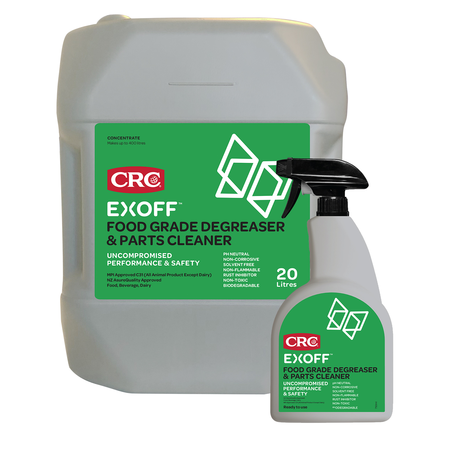 Food Grade Cleaner | Exoff Food Grade Degreaser and Parts